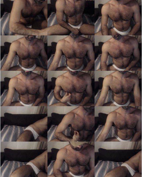 male muscle cam