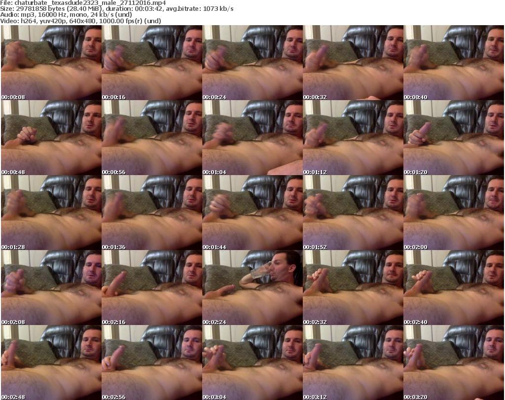 Download Or Stream File: chaturbate texasdude2323 27 November 2016